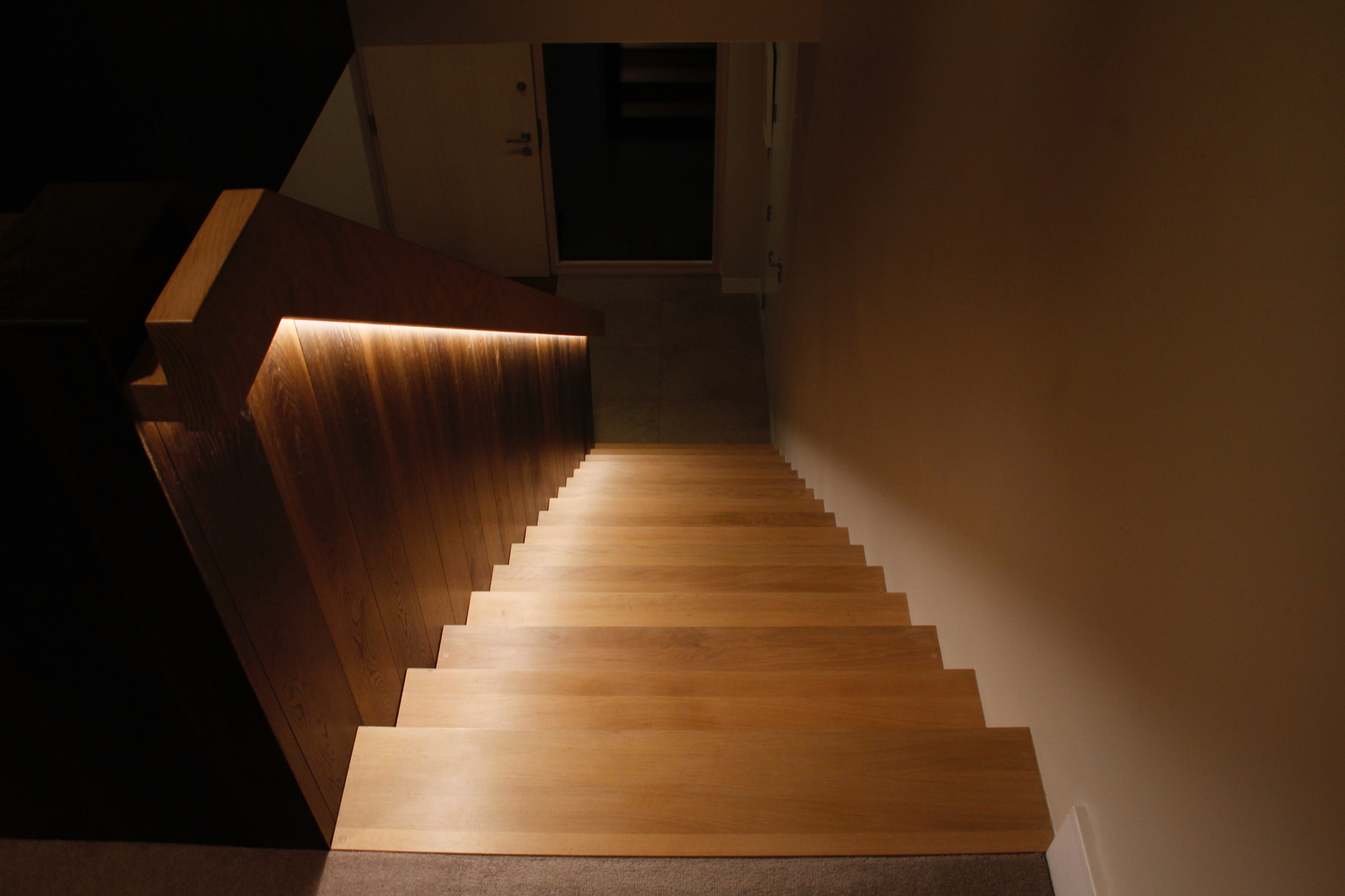 Staircase night time